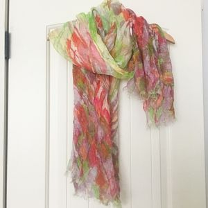 Colorful Linen Scarf